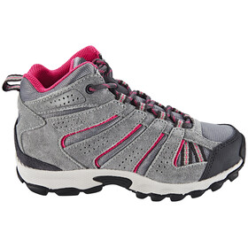 Columbia North Plains Mid Waterproof Shoes Youth grey ash/ultra pink